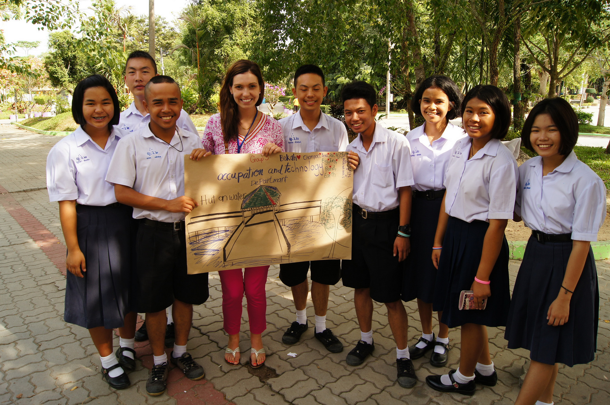Teaching English at Summers Camps in Thailand