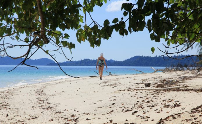One of the many untouched Mergui Archipelago Islands.