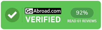 TravelBud on GoAbroad 92% Rating based on 50 Reviews