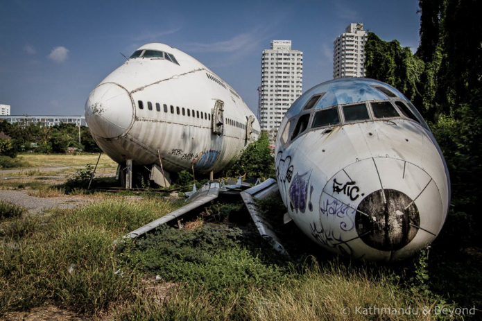 Bangkok City Guide - Airplane Graveyard