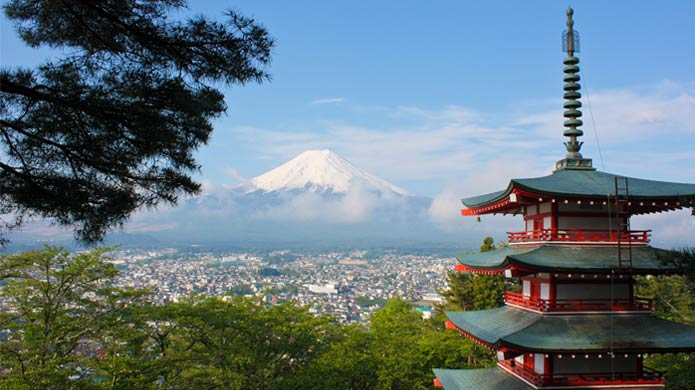 See Mount Fuji when Teaching English in Japan with TravelBud