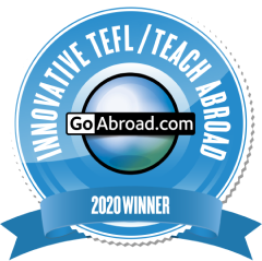 TravelBud is a finalist for the GoAbroad Innovative TEFL / Teach Abroad Program Awards 2020!