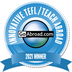 TravelBud Won the 2021 Innovation Awards in the Teach Abroad Category